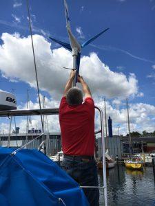 "Windgenerator ""Silentwind"" 400 Watt /12 V"